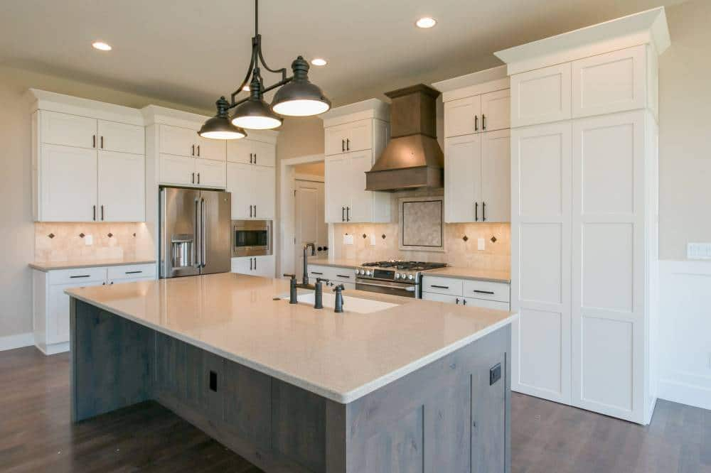 corridor kitchens north liberty cabinetry design
