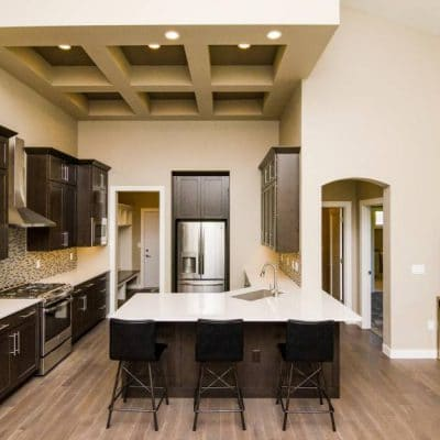 Design / Remodel by Corridor Kitchens, North Liberty