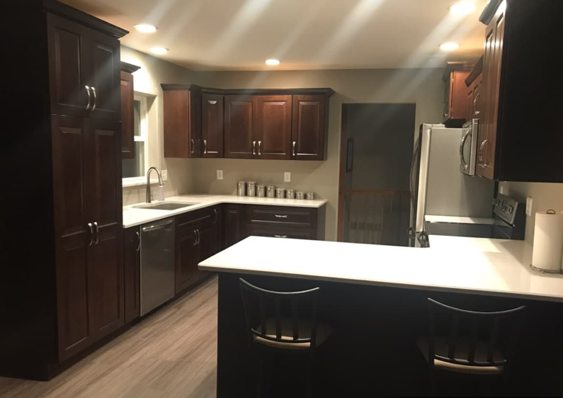 Corridor Kitchens | North Liberty Cabinetry Design ...