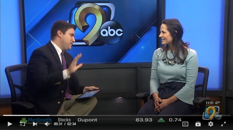 Amber Horton interviewed on KCRG
