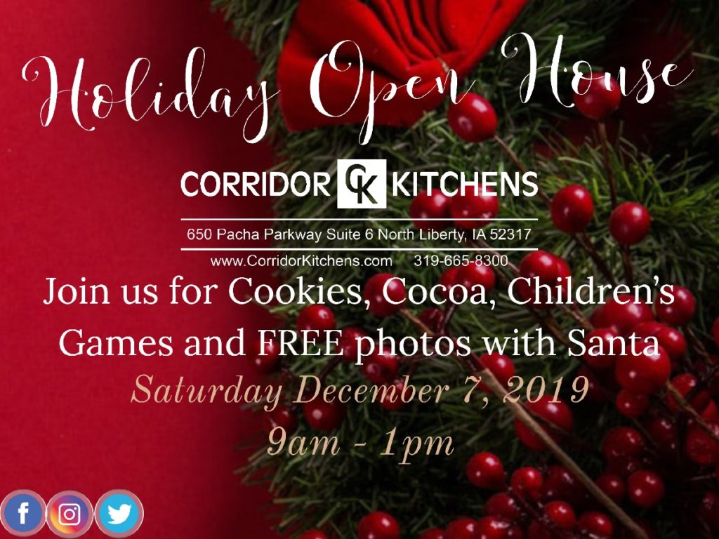 Corridor Kitchen's Holiday Open House